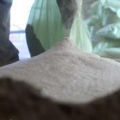 აფუებული პერლიტის ქვიშა (სალესი, მოჭიმული იატაკისთვის)